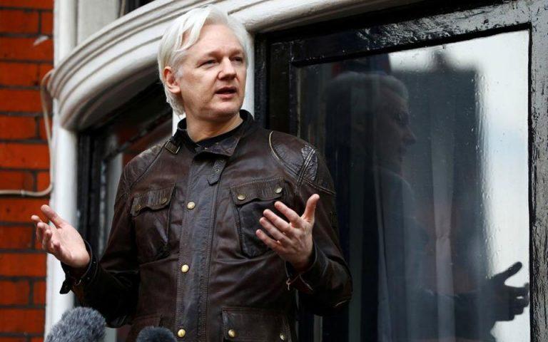 ΗΠΑ: Έφεση κατά της απόφασης των βρετανικών αρχών να μην εκδώσουν τον Ασάνζ
