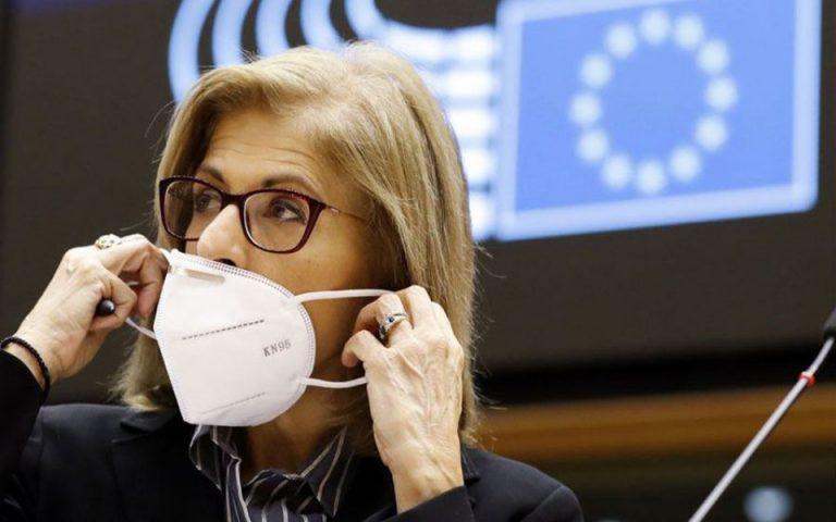 Στ. Κυριακίδου: Στόχος ο εμβολιασμός του 70% των Ευρωπαίων μέχρι τέλος καλοκαιριού