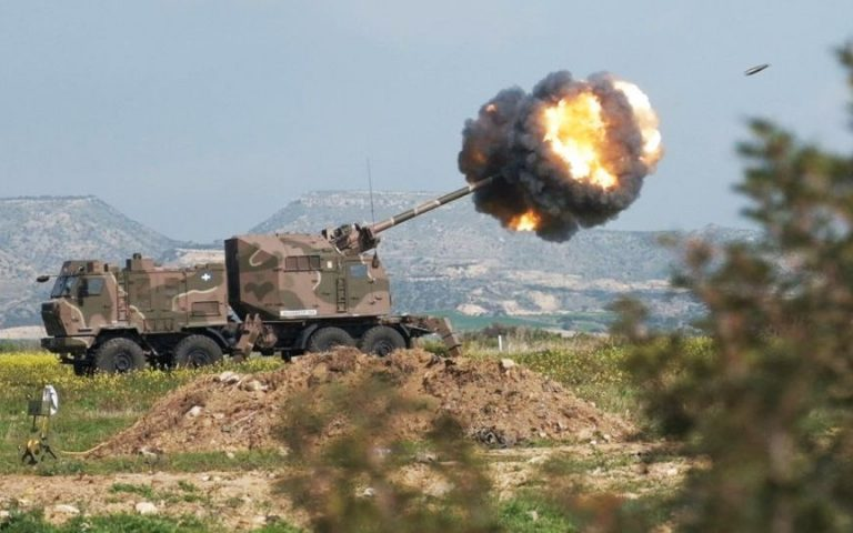 Κύπρος: Το νέο πυροβόλο Nora Alexander TGS εν δράσει (βίντεο)
