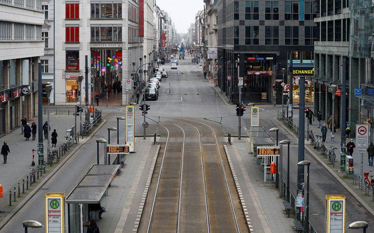 Οι ευρωπαϊκές πόλεις «άδειασαν» λόγω της πανδημίας