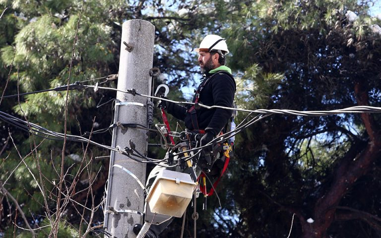 Έκτακτες διακοπές ηλεκτροδότησης στις πληγείσες περιοχές των Β. Προαστίων