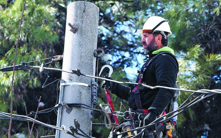 Τα απαρχαιωμένα ηλεκτρικά δίκτυα εύκολα πέφτουν