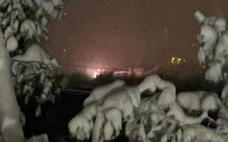 Η έκρηξη στον υποσταθμό Κηφισιάς διόγκωσε τα προβλήματα ηλεκτροδότησης (φωτογραφία)