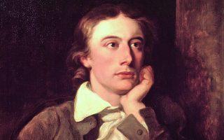 Ο Βρετανός ρομαντικός ποιητής Τζον Κιτς (1795 1821) σε έργο του Γουίλιαμ Χίλτον. Φέτος είναι  η επέτειος των 200 χρόνων από τον θάνατό του.  Φωτ. NATIONAL PORTRAIT GALLERY