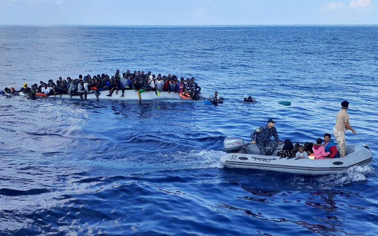 Λιβύη: Εντοπίστηκαν και διασώθηκαν 1.500 μετανάστες σε μια εβδομάδα
