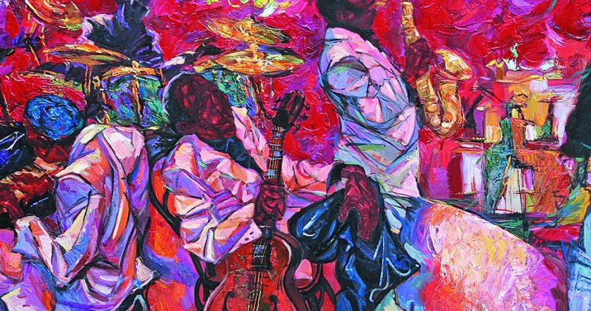 Λάτρης της παραδοσιακής τζαζ ο Λάρκιν, εντόπιζε σε αυτήν όλα εκείνα τα στοιχεία που τον έθελγαν και δεν τα έβρισκε στη μοντέρνα εκδοχή αυτού του μουσικού είδους, όπως η χαρά, η έκρηξη των συναισθημάτων, ο χορός μέχρι τελικής πτώσεως, οι λεπταίσθητες αποχρώσεις μιας ζωής που αναπόδραστα οδηγείται στο πουθενά. Φωτ. SHUTTERSTOCK