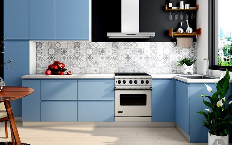 Μοντέρνα χρώματα κουζίνας
