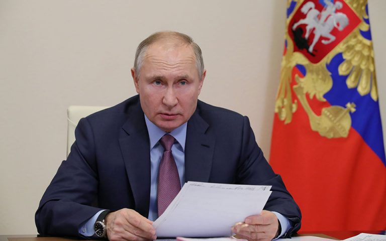 Πούτιν: Η Δύση εκμεταλλεύεται τον Ναβάλνι για να μας περιορίσει