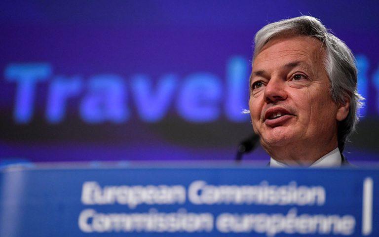 Πρόοδο στην ψηφιοποίηση της ελληνικής Δικαιοσύνης σημειώνει ο Ευρωπαίος Επίτροπος