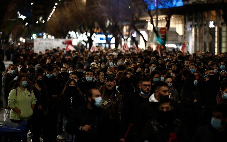 Θεσσαλονίκη: έρευνα ΕΛΑΣ για βίντεο με βία αστυνομικών κατά διαδηλωτών