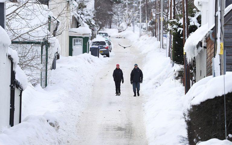 Πάγωσε η Βρετανία: Στους -23 βαθμούς Κελσίου