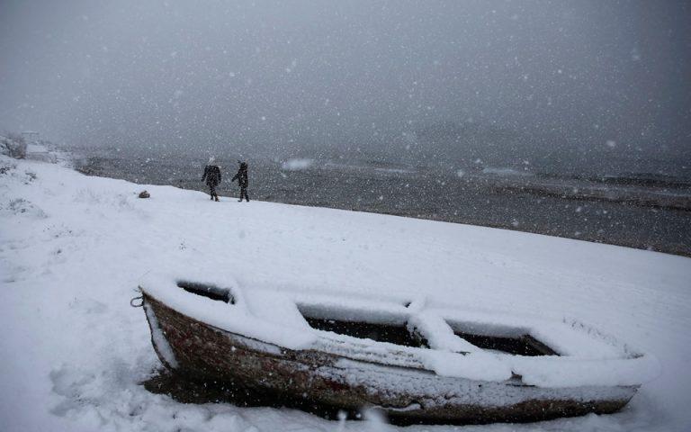 Κακοκαιρία «Μήδεια»: Τρεις νεκροί από την επέλαση του χιονιά