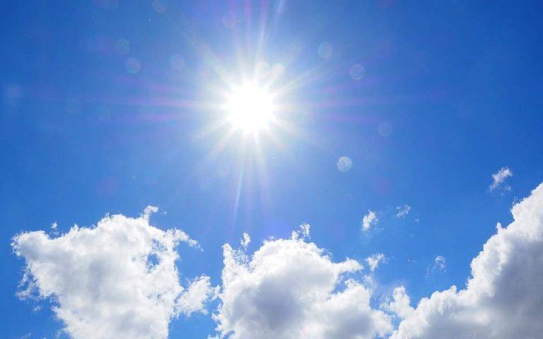 Βελτιωμένος ο καιρός, άνοδος της θερμοκρασίας