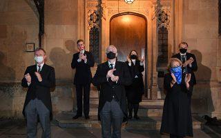 Φωτ: UK Parliament/Jessica Taylor/Handout via REUTERS