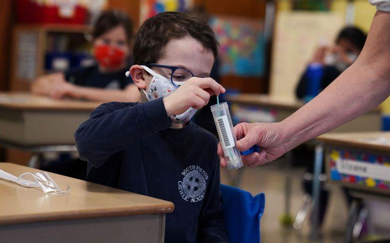 ΗΠΑ: Σχεδόν τρία εκατ. παιδιά έχουν προσβληθεί από κορωνοϊό