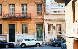 Κάτω Πατήσια. Η οδός Πάτμου από την οδό Καλλινίκου, κάτω από την πλατεία Κολιάτσου.   Φωτ. ΝΙΚΟΣ ΒΑΤΟΠΟΥΛΟΣ