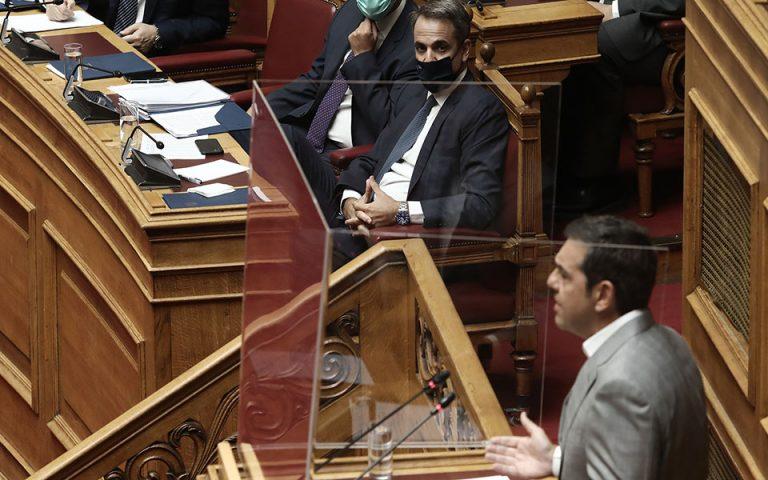 Επίκαιρη ερώτηση Τσίπρα στον πρωθυπουργό για το γεύμα στην Ικαρία
