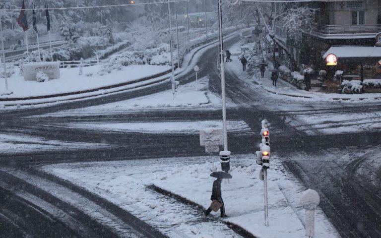 Κυρ. Μητσοτάκης για χιονιά: Να αποφεύγονται οι περιττές μετακινήσεις