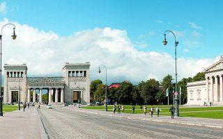 Η καρδιά του Μονάχου αποτυπώνει την τεράστια αγάπη για την αρχαία Ελλάδα και τον πολιτισμό της.