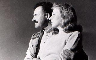 Η Martha Gellhorn και ο «άλλος». © AP Photo