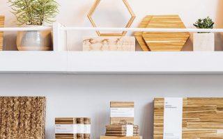 Η ChopValue προσφέρει και καλλιτεχνικές δημιουργίες από ανακυκλωμένα ξυλάκια.