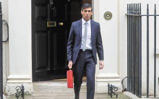 Ο υπουργός Οικονομικών της Βρετανίας, Ρίσι Σουνάκ, παρουσίασε χθες τον νέο προϋπολογισμό.