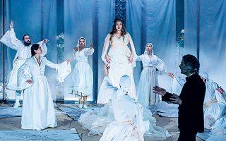 «Ελεύθεροι πολιορκημένοι», από το Εθνικό Θέατρο, σε απευθείας μετάδοση από τη σκηνή «Ελένη Παπαδάκη» του θεάτρου Rex.