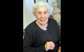 Η Ντρίτα Τζιόμο (1923-2021), μια φοιτήτρια ταγμένη στον αγώνα σωτηρίας συνανθρώπων, τότε  στη Θεσσαλονίκη του 1943, όταν τα τρένα του θανάτου έφευγαν με προορισμό το Αουσβιτς.