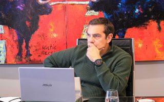 «Στοχευμένα μέτρα, μελέτες επιδημιολογικής επιτήρησης, χιλιάδες τεστ επιδοτούμενα από την ελληνική πολιτεία» πρότεινε ο πρόεδρος του ΣΥΡΙΖΑ Αλέξης Τσίπρας (φωτ. INTIME NEWS).