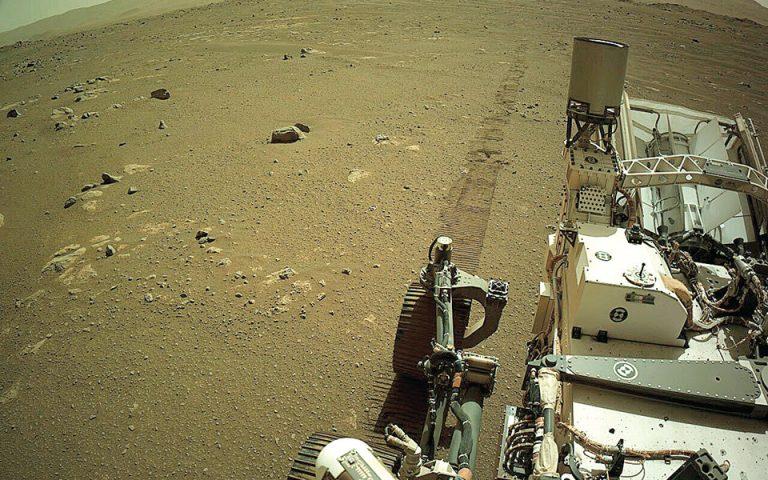 Θορυβώδης πορεία στον Αρη