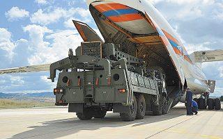 «Oι κυρώσεις επιβλήθηκαν στην Τουρκία επειδή η χώρα διαθέτει τους S-400 και όχι για το αν είναι συμβατά τα συστήματα», δήλωσε χαρακτηριστικά ο Αμερικανός πρέσβης (φωτ. Turkish Defence Ministry via A.P., Pool).