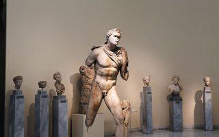 Εκθέματα από το Εθνικό Αρχαιολογικό Μουσείο (φωτ. Ιntimenews).