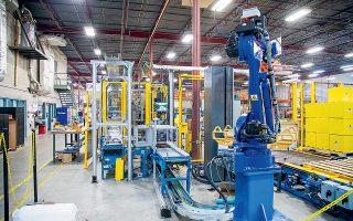Αύξηση-ρεκόρ σημείωσε η βιομηχανική παραγωγή στη Γερμανία, τροφοδοτώντας έτσι σε μεγάλο βαθμό την καλή εικόνα της μεταποίησης στην Ευρωζώνη.