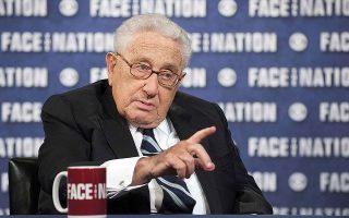«Η Δύση πρέπει να πιστέψει στον εαυτό της. Αυτό είναι εσωτερικό μας πρόβλημα, όχι κινεζικό πρόβλημα», ανέφερε ο Χένρι Κίσινγκερ, υπουργός Εξωτερικών των ΗΠΑ επί προεδρίας Ρίτσαρντ Νίξον και Τζέραλντ Φορντ (φωτ. αρχείου, REUTERS / CBS News / Chris Usher / Handout).