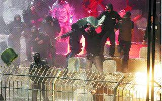 Η δράση των σκληροπυρηνικών οπαδών επανήλθε στο προσκήνιο μετά τα επεισόδια της 9ης Μαρτίου στη Νέα Σμύρνη, στα οποία είχαν ενεργό συμμετοχή.  Φωτ. INTIME NEWS