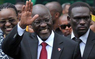 Ο νεκρός - πιθανότατα από κορωνοϊό - πρόεδρος της Τανζανίας, Τζον Μαγκουφούλι (φωτ.: Reuters)
