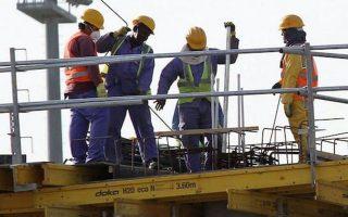 Η Διεθνής Αμνηστία ζητεί από τη FIFA να αυστηροποιήσει τους ελέγχους για την τήρηση των ανθρωπίνων δικαιωμάτων των εργαζομένων (φωτ. REUTERS).