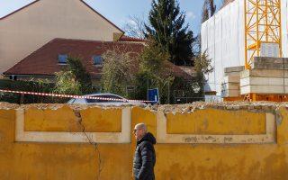 Δεν έγινε αισθητός στο Ζάγκρεμπ ο σεισμός των 5,6 Ρίχτερ στην Αδριατική, έναν χρόνο μετά τις ζημιές που προκάλεσε στην κροατική πρωτεύουσα ο σεισμός της 22ας Μαρτίου 2020 (φωτ.: Reuters).