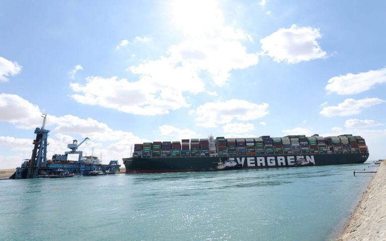 Πλοίο «Ever Given»: Οι εκτιμήσεις για το άνοιγμα της Διώρυγας του Σουέζ