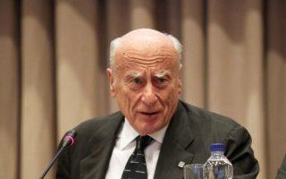 Με ανακοινώσεις τους, η Τράπεζα Πειραιώς, η Εθνική και ο ΣΕΒ αποχαιρέτισαν τον «πατριάρχη» του ελληνικού τραπεζικού συστήματος, Γιάννη Κωστόπουλο.