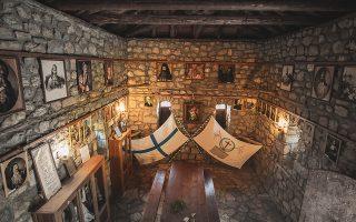 Λιμποβίσι Αρκαδίας. Το σπίτι του Θεόδωρου Κολοκοτρώνη. Οι Ελληνες ξεκίνησαν τον αγώνα της ανεξαρτησίας τους εν τω μέσω μιας εποχής εκ θεμελίων καταστροφής και μετασχηματισμού της Οθωμανικής Αυτοκρατορίας. (Φωτ. SHUTTERSTOCK)
