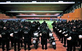 Προωθούνται ο σχεδιασμός πολιτικής διά βίου μάθησης και η διοργάνωση ειδικών σχολείων και προγραμμάτων για τους αστυνομικούς όλων των βαθμίδων. Φωτ. ΙΝΤΙΜΕ