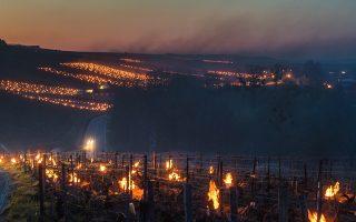 Η Βουργουνδία στις φλόγες