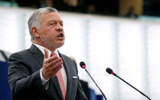 O βασιλιάς της Ιορδανίας Αμπντάλα (Φωτ. Reuters)