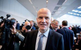 O επικεφαλής της κοινοβουλευτικής ομάδας των Χριστιανοδημοκρατών Ραλφ Μπρίνκχαους (φωτ. Kay Nietfeld/dpa via AP).