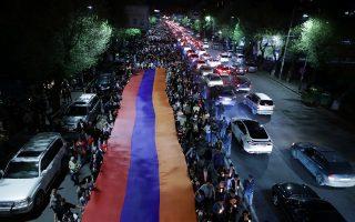 Δικαιωμένοι αισθάνονται οι Αρμένιοι με την αναγνώριση από την Ουάσιγκτον της σφαγής 1,5 εκατομμυρίου Αρμενίων από τους Οθωμανούς πριν έναν αιώνα (φωτ.: Reuters).