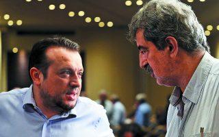 Ο Παύλος Πολάκης θα συμμετάσχει στην Προανακριτική για τον Νίκο Παππά. «Απέναντι στον Μαρκόπουλο και στον Πλεύρη, κάποιος πρέπει να απαντά», σχολιάζει κορυφαία πηγή της Κ.Ο. Φωτ. ΑΠΕ-ΜΠΕ / ΟΡΕΣΤΗΣ ΠΑΝΑΓΙΩΤΟΥ