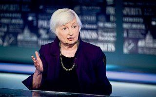 Η έκκληση της κ. Γέλεν εντάσσεται στις ευρύτερες προσπάθειες της κυβέρνησης Μπάιντεν να συγκεντρώσει τα αναγκαία φορολογικά έσοδα για να χρηματοδοτήσει το πακέτο του 1,9 τρισ. δολαρίων (φωτ. AP).