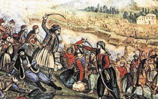 Μετά τη μάχη της Αλαμάνας στις 23 Απριλίου 1821, ο μυημένος Φιλικός, στην πρώτη του νιότη καλογεροπαίδι, αρματολός, βρήκε φρικτό θάνατο βασανιζόμενος στα 33 του, περνώντας στην αιωνιότητα της εθνικής τιμής και δόξας, και στην εμπροσθοφυλακή των αθάνατων ηρώων του Αγώνα. Αλλαξοπιστία ή θάνατος; «Εγώ Γραικός γεννήθηκα, Γραικός και θ' αποθάνω», απάντησε στον Ομέρ Βρυώνη, παλιό του γνώριμο από την αυλή του Αλή Πασά, αυτοστιγμεί ο Διάκος. Η συνέχεια, όπως γράφει ο επιστολογράφος της «Κ», απόγονος του μάρτυρα, γνωστή από τα μαθητικά μικράτα μας.