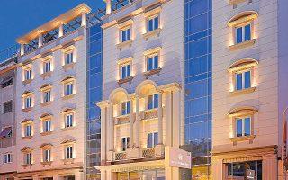 Το Stratos Vassilikos Hotel στο κέντρο της Αθήνας.